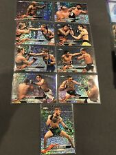Topps Ufc Conor Mcgregor Diamond Refractor 9 Card Lot Max Holloway 2018 Chrome