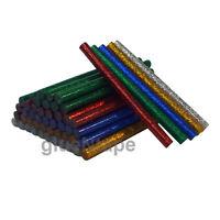Color GLITTER Hot Melt Glue Sticks in various colors 50 pcs School DIY projects