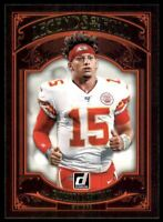 2020 Donruss Legends of the Fall #16 Patrick Mahomes II