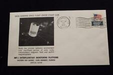 SPACE COVER 1973 MACHINE CANC IMP-J INTERPLANETARY MONITORING PLAT  LAUNCH (4971