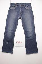 Lee Denver Bootcut (Cod. Y824)Tg.47 W33 L34 Jeans Usato ACCORCIATO Vintage Zampa