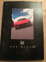 Honda Car Range Car Brochure - 1990s - Includes NSX