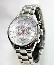 KIENZLE  Herrenuhr Chronograph  Metall Armband  5BarW.R.