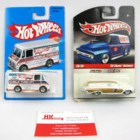 Hot Wheels: Larry's Combat Medic & '59 Chevy Delivery #28 - Qty 2 | NEW