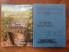 EXPRESSZÜGE AUF SCHMALER SPUR~GLACIER / BERNINA EXPRESS~MOB~SCHWEERS/WALL/KUNNES