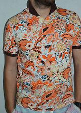 New Multi Color Etro Men's Polo T-Shirt Size L