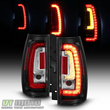 Blk 2007 2017 Chevy Suburban Tahoe Yukon Led Signal Light Tail Lights Lamps Fits 2009 Chevrolet