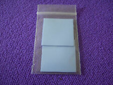 (2 pcs) 30 x 30mm 3cm SQUARE 1mm 0.1cm THICK BLUE THERMAL ADHESIVE HEAT SINK PAD