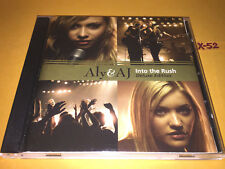ALY & AJ cd INTO THE RUSH deluxe edition + BONUS DVD chemicals react FOLD POSTER