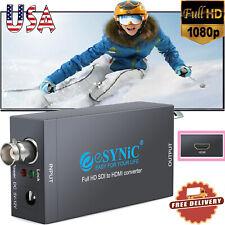 Sdi to Hdmi Converter 1080P Bnc Coax Video Audio Adapter Sd-Sdi Hd-Sdi 3G-Sdi