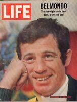 Life Magazine November 11 1966 Birthday Belmondo VG 050316DBE