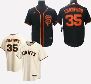 San Francisco Giants #35 Brandon Crawford Cool Base men's stitched jersey