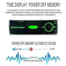 1 Din Audio Stereo MP3 Player Bluetooth Stereo Radio FM SD/USB AUX High Fidelity