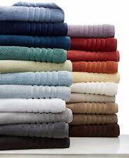 Hotel Collection MicroCotton 4-PC Bath/Hand Towel Set Smoke/Jade $124 G2956