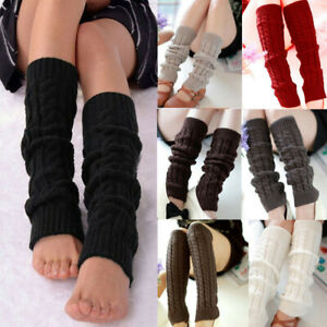 New Crochet Boot Cuffs Boot Toppers Socks Faux Leg Warmers One Size UK Seller