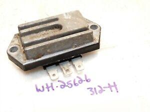 Wheel Horse 310 312-H Tractor Kohler M12S 12hp Engine Voltage Rectifier