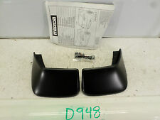 NEW REAR MUD FLAPS SPLASH GUARDS MAZDA 3 SEDAN REAR PAIR SET 10 11 12 13 KIT OEM