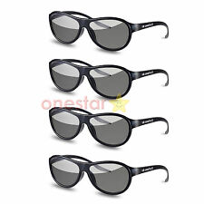 New 4 Pairs LG Cinema AG-F310 3D Polarized PASSIVE GLASSES for LG TCL LCD LED TV