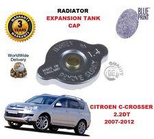 FOR CITROEN C CROSSER 2.2 DT 2007-2012 RADIATOR EXPANSION TANK CAP