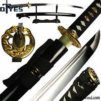 Full Handmade 1060 Carbon Steel Blade Full Tang Japanese Samurai Katana Sword