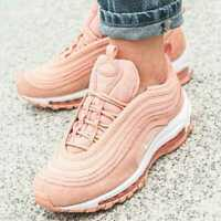 NIKE KIDS AIR MAX 97 - UK 5/US 5.5/EUR 38 - PINK (BQ7231-600)
