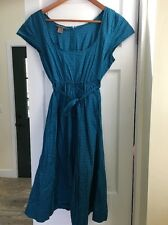 Orla Kiely Polkadot Dress Small Flawless