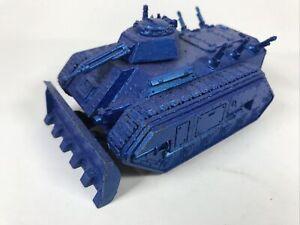 Chimera Painted Metallic Blue Astra Militarum Imperial Guard Warhammer 40K B4