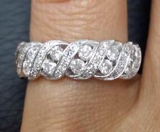 DEAL!1.00 CT NATURAL ROUND DIAMOND LADIES ENGAGEMENT WEDDING BAND RING 14K GOLD.