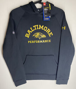 Baltimore Ravens NFL Combine Under Armour Storm Fleece Printed Hoodie Youth-L