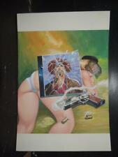 CORRIDOS PERRONES # 246, SEXY PIN UP GIRL ORIGINAL MEXICAN COVER ART