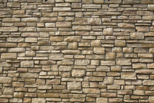 - 9 SHEETS rock wall 21x29cm 1/32 scale EMBOSSED bumpy CODE 3D73MI!