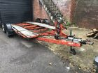 Car transporter trailer twin axle - Collection Winchester