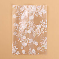 100pc Self Adhesive Gift Bag Cookie Cellophane Package Wedding Favor Packaging D