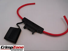 MAXI 10 AWG 40 AMP Inline Fuse Holder - Water Resist Cap