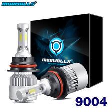 IRONWALLS 9004 1500W LED Headlight Kit HB1 Hi/Lo Beam Bulbs Conversion Kit 6000K