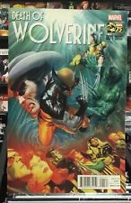 Death of Wolverine #1 1:75 Variant by Alex Ross