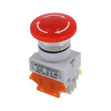 Ui 600V Ith 10A Switch Emergency Stop push button Mushroom DT