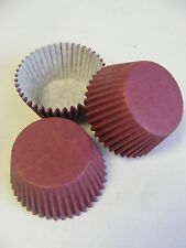48 x high quality BURGUNDY Muffin / Cup Cake cases