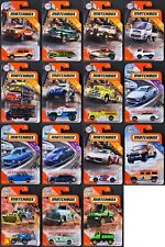 2020 Matchbox Wave B - All 15 Vehicles / Volkswagen Golf WITH SKATEBOARDS / MOC