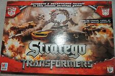 TRANSFORMERS EDITION STRATEGO MILTON BRADLEY 100% COMPLETE ! MINT CONDITION!