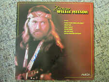 AMIGA LP Willie Nelson - 20 Of The Best / Signiert / Autogramme Nelson & English