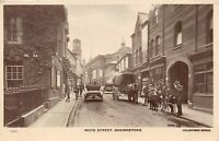 POSTCARD  HAMPSHIRE - BASINGSTOKE - LONDON STREET - CIRCA 1927 - RP
