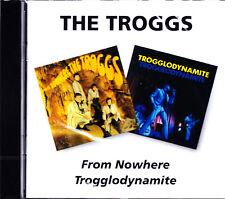 TROGGS from nowhere/trogglodynamie  (2on 1) CD NEU/OVP Sealed