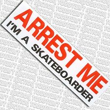 - arrestami sono un grande-Skateboard Sticker