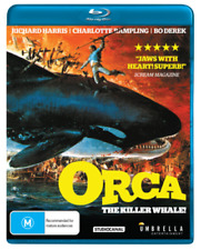 ORCA - THE KILLER WHALE   - Blu Ray - Sealed Region free