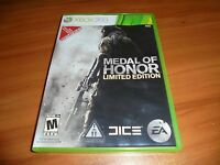 Medal of Honor -- Limited Edition (Microsoft Xbox 360, 2010) Complete X360