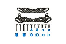 Tamiya 47327 RC TB04 Carbon Damper Stay Set - For TRF SS Big Bore Dampers