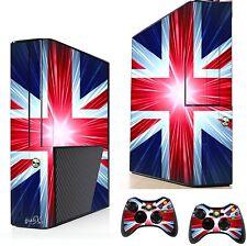 Union Jack Adesivo / Pelle XBOX 360E console & controller remoto ADESIVI xsk13