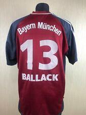 Bayern München 2001/2002 BALLACK HOME Fußball Soccer Jersey Trikot Shirt Size XL