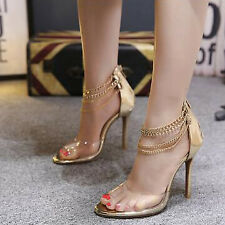 Seductive Open Toe High Heel Sandals - Golden (XYG052458 )